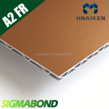 SIGMABOND corrugated A2 ACM / aluminum lattice composite panel/aluminum lattice panel