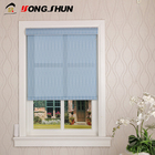 Low MOQ wireless printed fabric electric roller turkish blinds for window