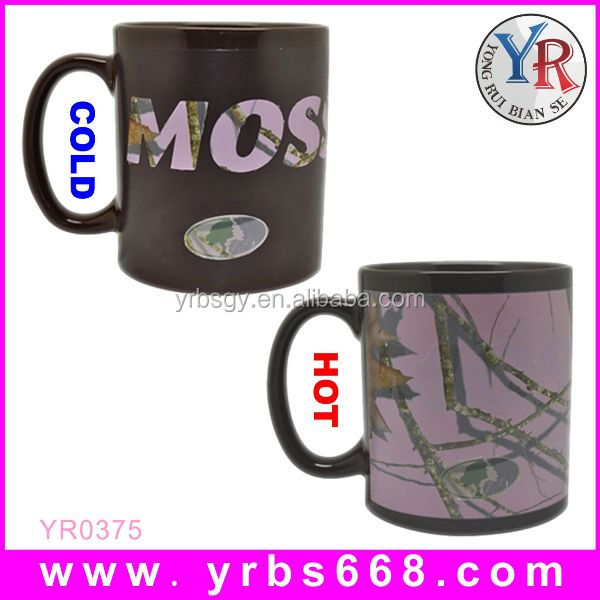 2014 Hight quality promotional gift products black matt mug from China supplier