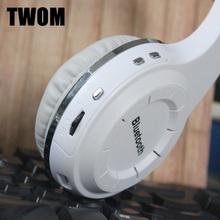 TWFM Sport Bluetooth 4.1 Wireless Headset for PC Computer Big Gaming Headphones Stereo Bass Earpiece HiFi Earphone Mobile Phone