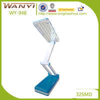 New model rechargeable led reading bed light exclusive use for students