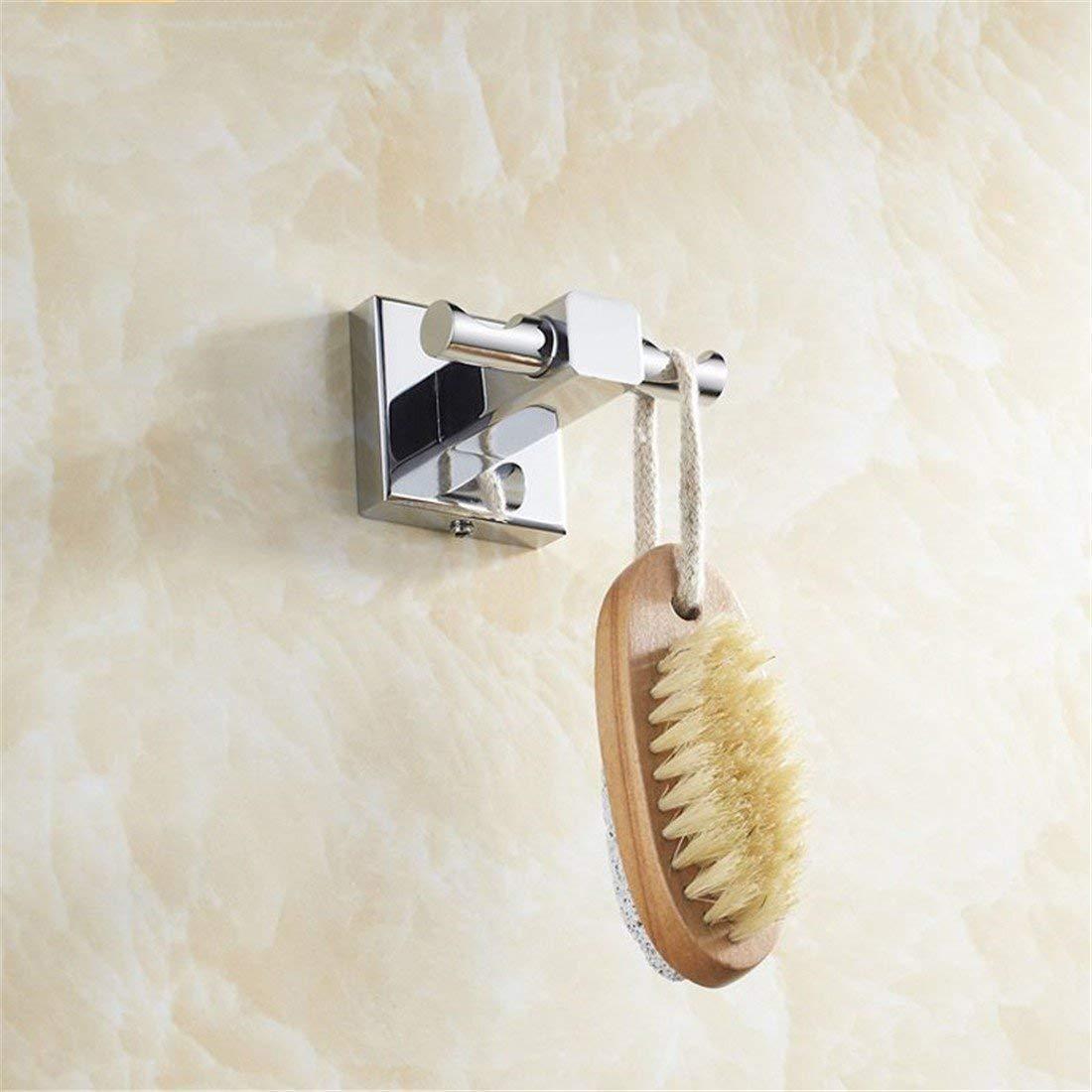 LAONA A contemporary minimalist Brass chrome bathroom accessory kit bath towel rack Towel racks, Coat Hook
