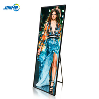 Indoor I-Post LED Display /Shop Window P2.5 P3 Commercial Rental Advertising LED Mirror Video Screen