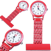 OEM/ODM high quality stainless steel case back nurse watch with nice dial for sale