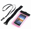 universal pvc dry waterproof mobile phone bag with belt