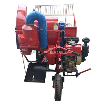 China manufacturer good performance price of rice harvester