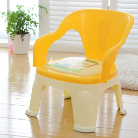 Hot sale high quality safety baby feeding chair Plastic kids sitting chair