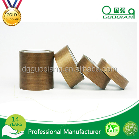 wholesale Fiberglass High Temperature adhesive backed teflon tape