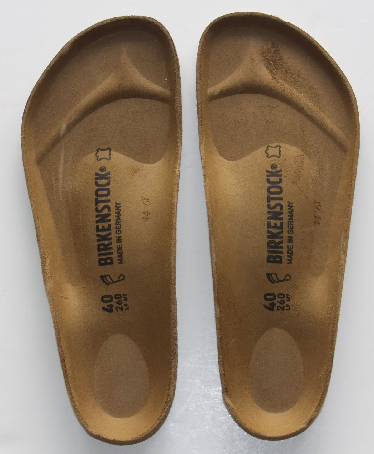 249064e4fb27 Get Quotations · Birkenstock Cork Replacement Foot Bed Regular and Narrow  Width (40R)
