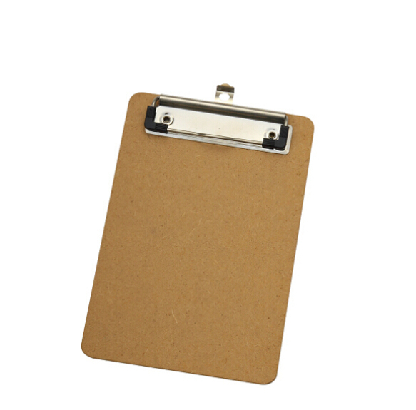 Good Quality A6 Mdf Clipboard