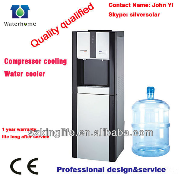 standing water dispenser/compressor cooling