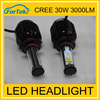 headlamp china exporters high quality 30w cree led automotive light h4 9004 headlight led