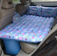 New Pattern Thick Inflatable Children Kids Race Car Bed back Seat Car Mattress