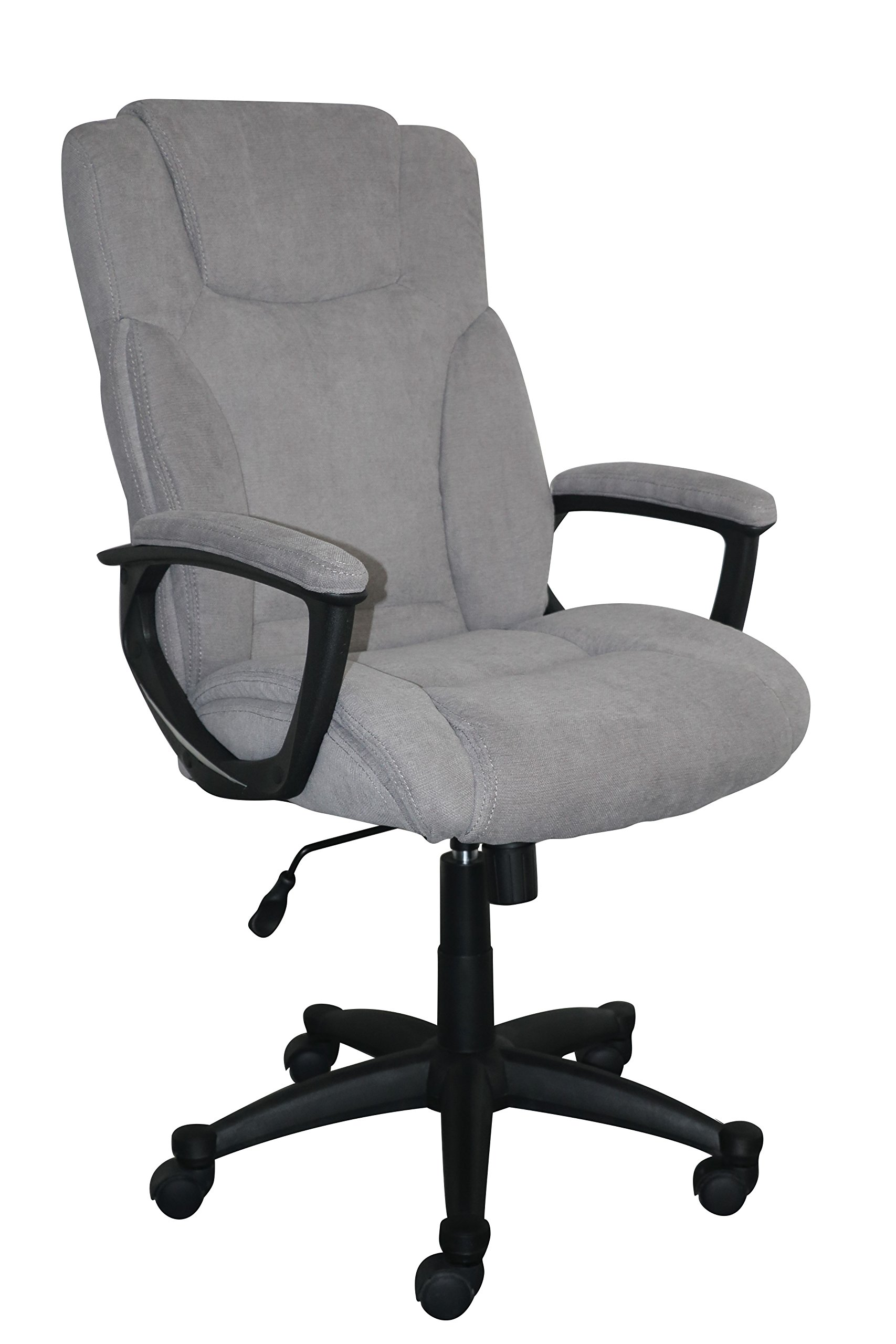 Serta Style Hannah II Office Chair, Harvard Gray Microfiber