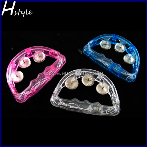 Light-up music instrument Rattles Hand Tambourine For Bar and ktv SL005