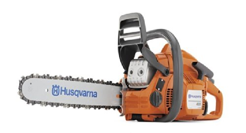"HUSQVARNA 435 16"" 40.9cc 2.2hp Gas Powered Chainsaw (Certified Refurbished)"