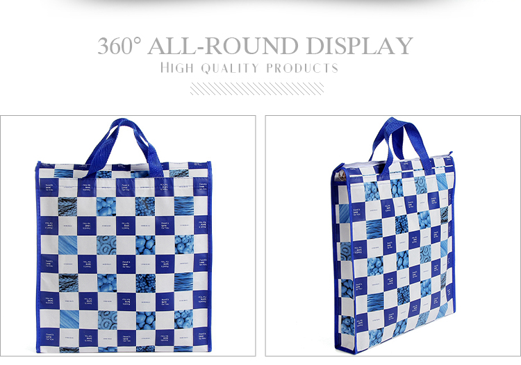 Wholesale new style folding shopping non woven tote bag