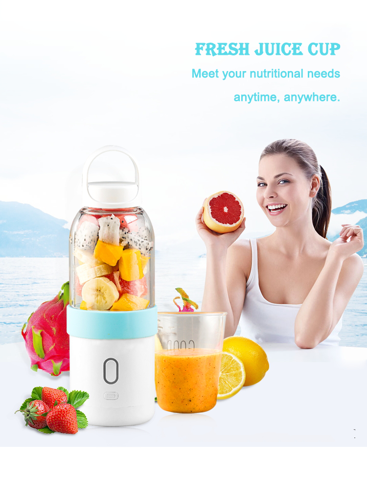 20 Years Factory Powerful Rechargeable Mini Portable Blender Usb Orange Mixer Extractor Sugarcane Juicer Machine