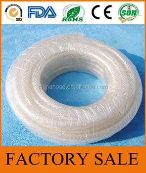 Cixi Jinguan Low Pressure Water System Transpa Pvc Hose Pipe Transfer Plastic