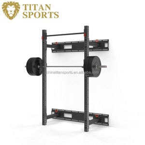 Durable Fold Back Wall Mount Rack For Home and Gym Use