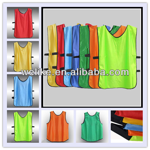 Buy Football vest kids training vest custom bibs wholesale provide ...