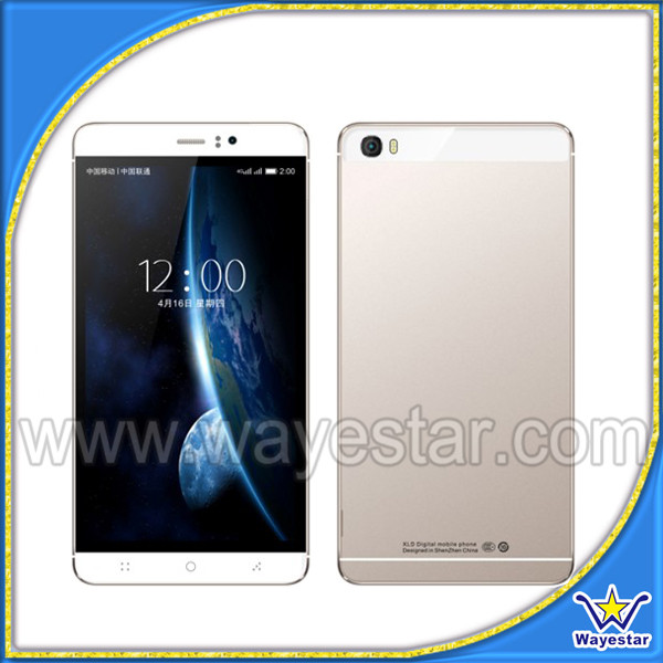 Low Price Gold Color Android 6 inch big screen dual sim mobile phones f798156c135f