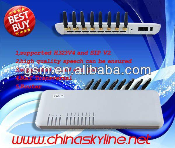 Goip 8 voip gateway/ usb dongle linux Support IMEI change