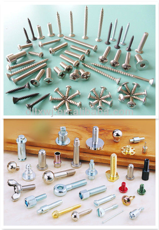 Screw cold heading machine for making Alloy Fasteners Parts Hex Socket Cylinder Head Step Screws