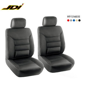 JDI-HY-S16035 Auto Accessory Protector Type Waterproof PU Front Car Seat Cover Set