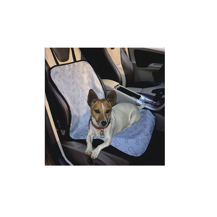 Luxe hond auto seat cover, auto seat cover front