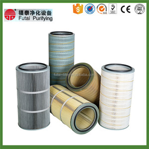 cyclone stainless steel gas turbine air cartridge filter