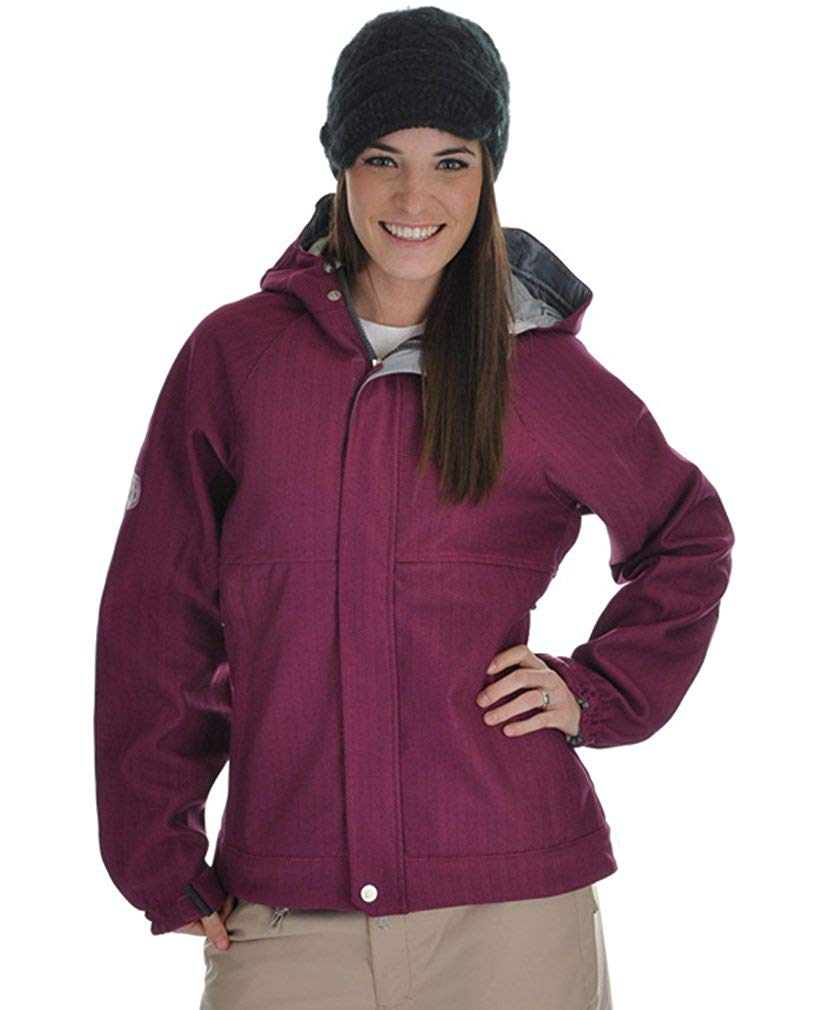 M/&S/&W Mens Classic Mountain Hiking Camping Waterproof Fleece Ski Windproof Rain Jacket