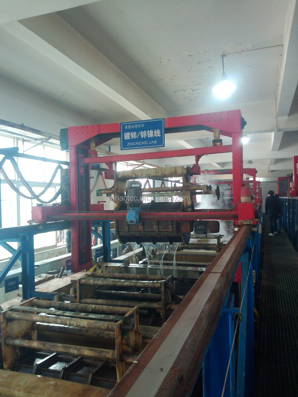 Directly Supply Zinc and NIckel Plating Line Of Surface Treatments Plant