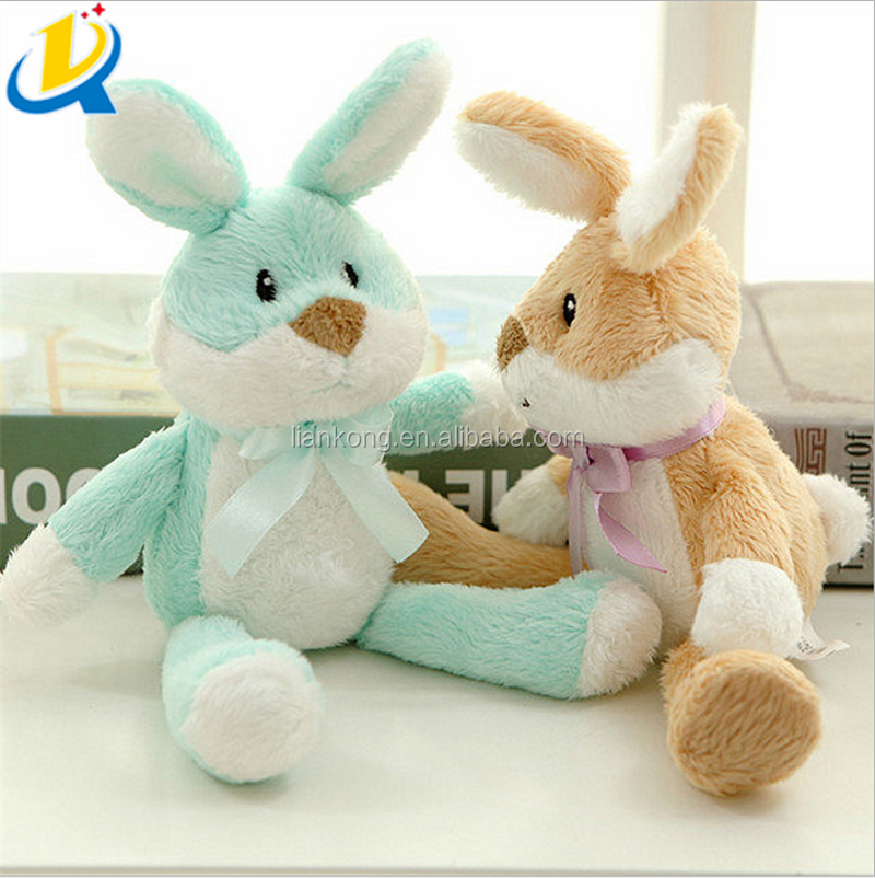 Wholesale new design kids toy decorative stuffed cute easter rabbit