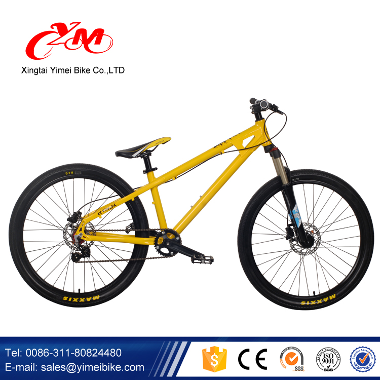 Alibaba good quality bicicletas mountain bike/26 inch 7 speed yellow mountain bicycle/full suspension mountain bikes sale