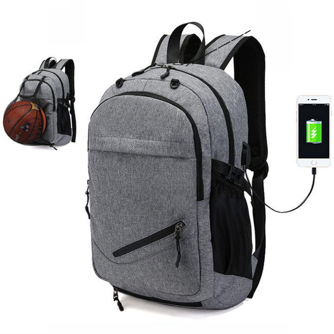 Wholesale outdoor sports backpacks and customized basketball backpack