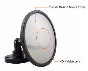 HD 720P Best Hidden Spy Mini Cam In Mirror IP CCTV Security Camera