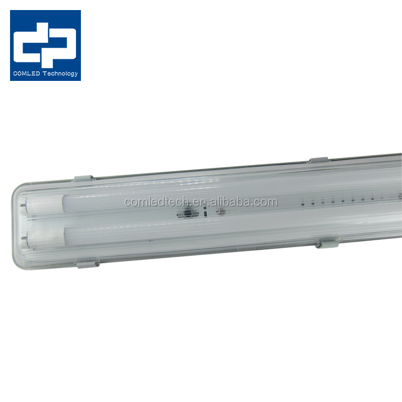 saa single IP65 waterproof T8 120cm light fixture 4ft led Tube fitting