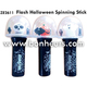 New Novelty Toy Light Up Flash Halloween Spinning Ball Stick