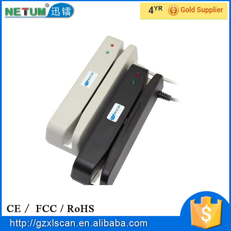 NT-400 Mini Portable Magnetic Stripe Card Reader
