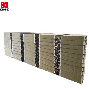 High Quality Building Material Rock Wool Sandwich panel