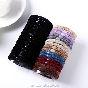 Simplicity hairdo ornaments bulk bands hair accessories women elastic hair ties