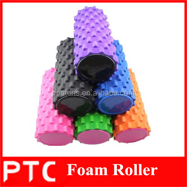 High density yoga foam roller eva foam roller with cover