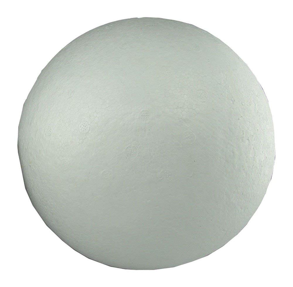 Buytra White Styrofoam Balls Craft Balls Polystyrene Foam Balls for Crafting Floral Arrangements 3.15 inch Centerpiece Wedding Party Decorations Modeling Projects 10 Pack