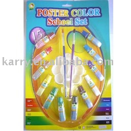 Poster color school set(poster paint)