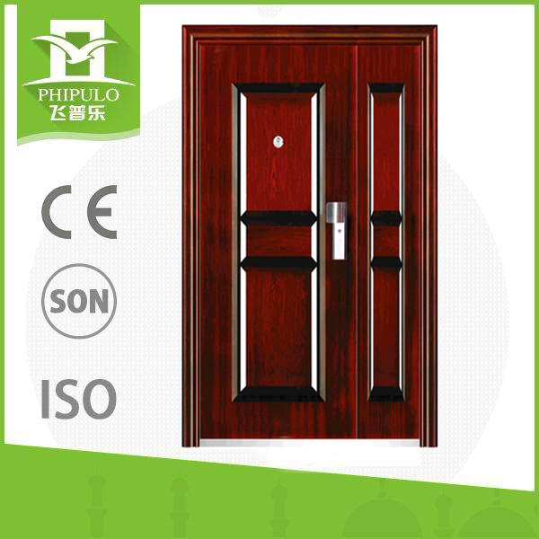 2015 new products son and mother door, entrance door with best quality