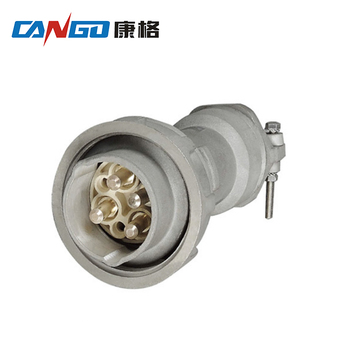 IP67 4pin 5pin 250A industrial large current plug