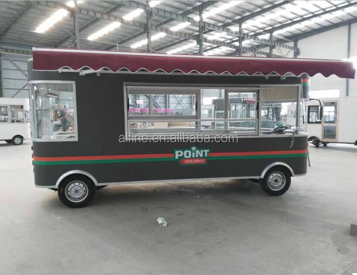 mdoern multifunctional remorque food truck