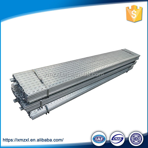 Galvanized Cold Rolled U Shaped Sheet Channel Bar