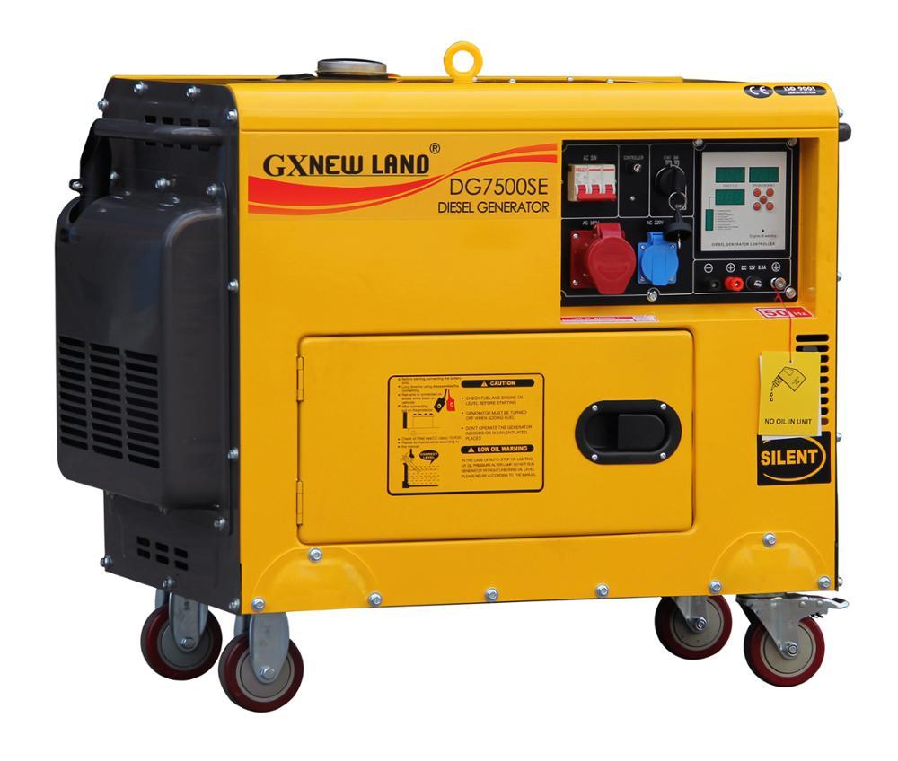 Air-cooled 5kw Diesel Silent Diesel Generators - Buy Diesel Generator,Honda  10kw Generator,Silent Generator Product on Alibaba com
